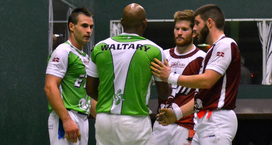 Waltary Agusti, Bixintxo Bilbao, Baptiste Diucassou et Peio Larralde