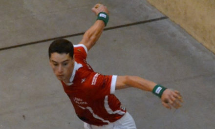 Peio Guichandut fait ses premiers pas en Championnat individuel Elite pro