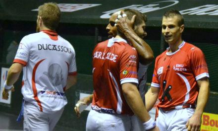 Larralde, Bilbao, Waltary et Ducassou finissent l'année en apothéose