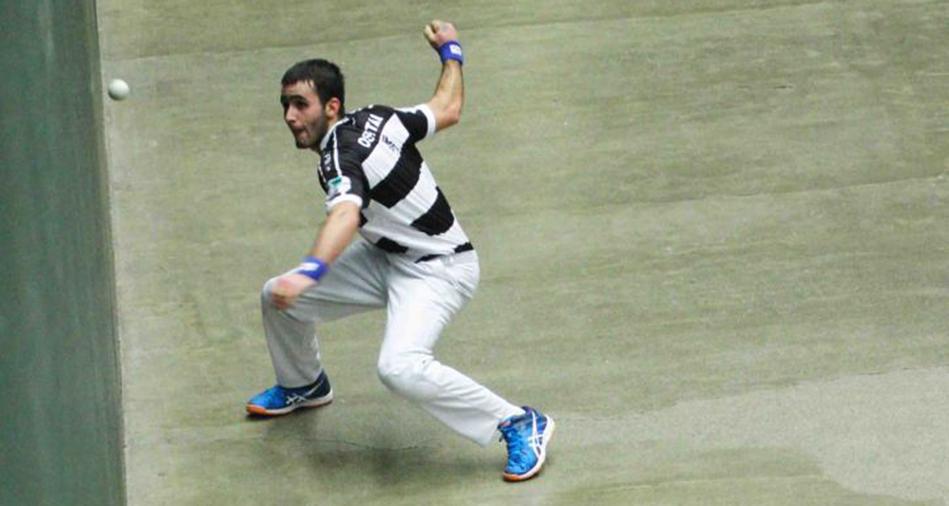 Mathieu Ospital joueur de pelote basque