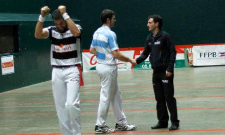 Premier championnat, premier titre pour Etchegaray