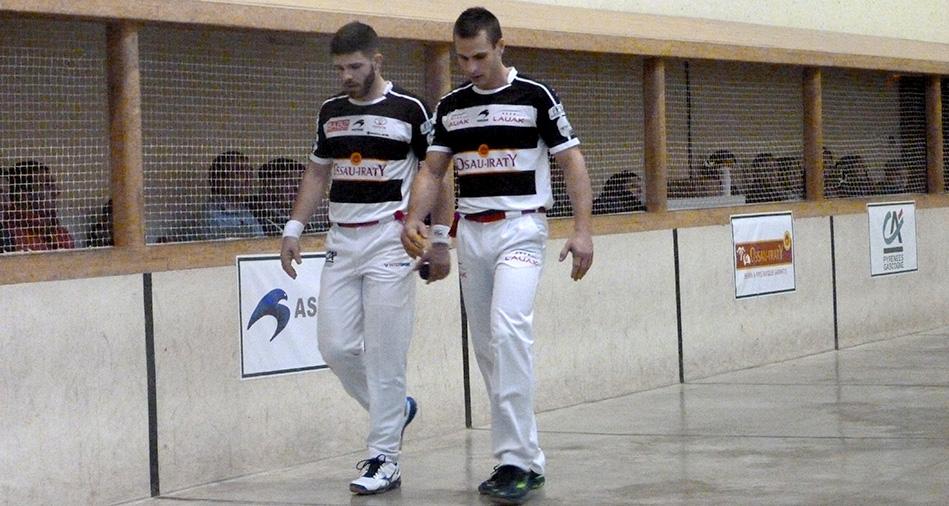 Larralde et Bilbao sont devant Ospital et Ducassou au classement