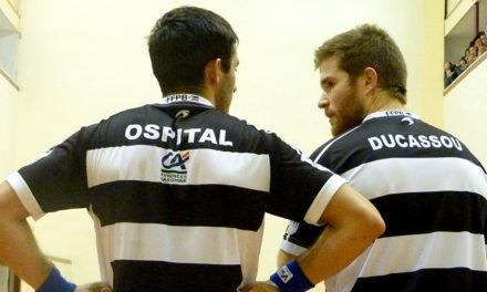 Ospital et Ducassou visent les demi-finales
