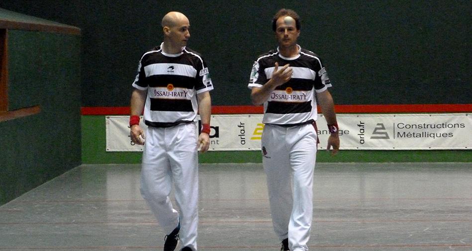 Bielle et Lambert, joueurs de pelote basque