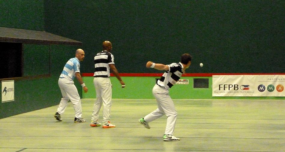 Barrage du championnat de france elite pro de pelote basque par équipes