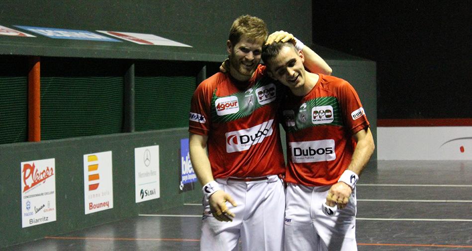 Ospital et Ducassou ont remporté le tournoi Pilotarienak