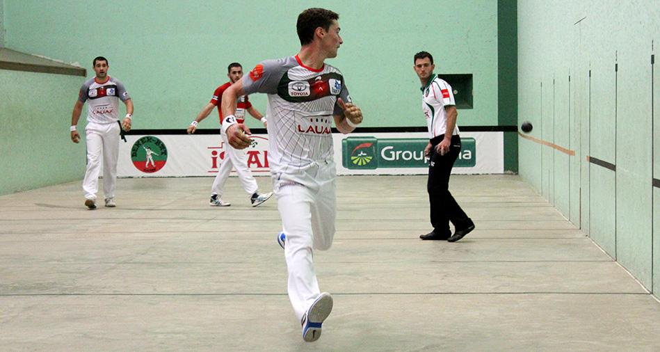 Etchegaray et Guichandut ont couru après le score