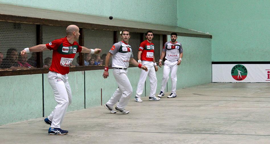 Ospital et Lambert affrontent Bielle et Ducassou en demi-finale à Cambo