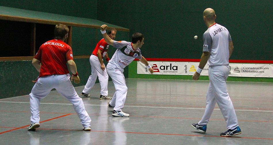 Ospital et Lambert se sont qualifiés pour la finale du tournoi de Garindein