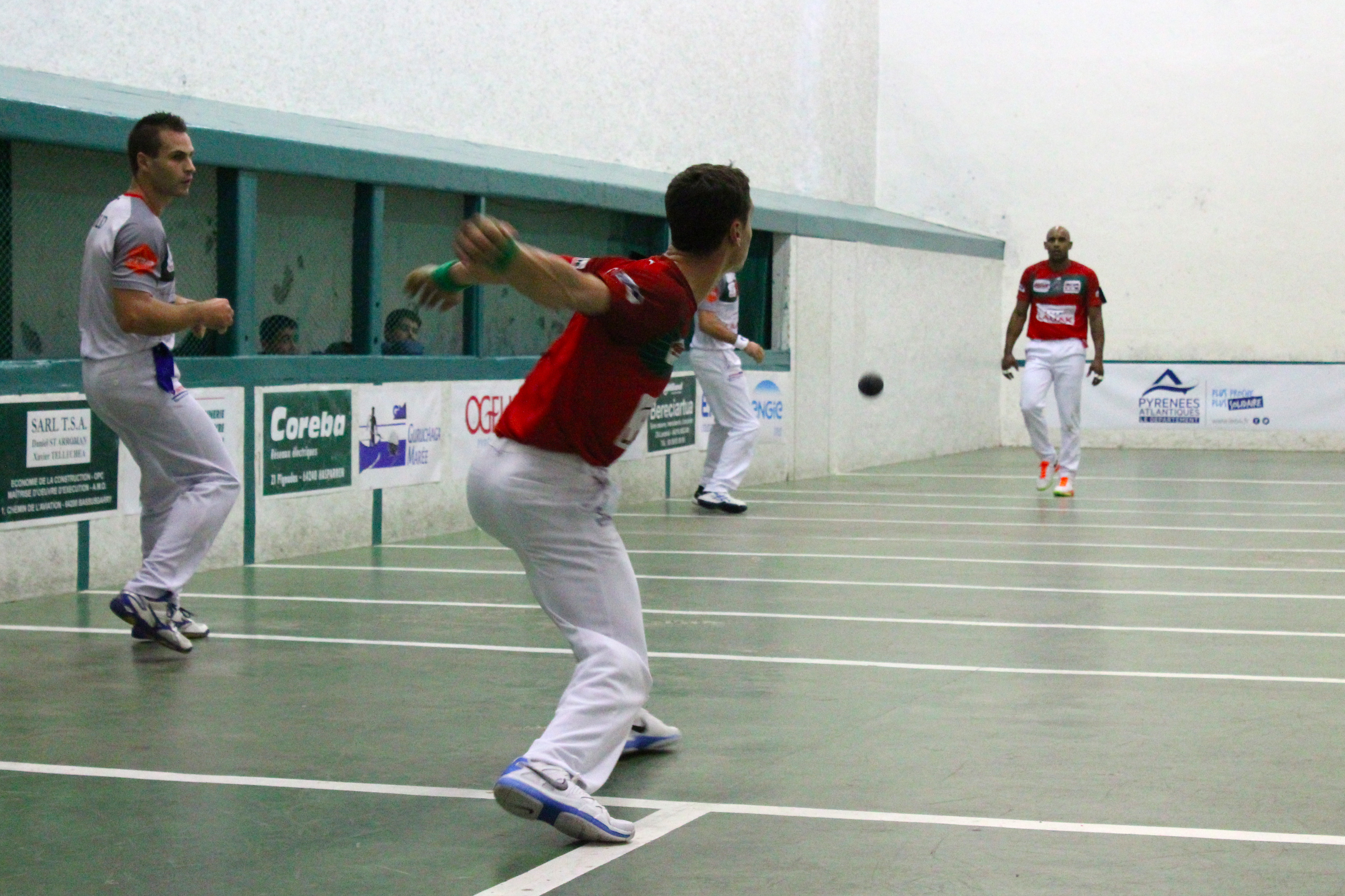 Monce, Ducassou, Waltary et Guichandut sont qualifiés pour la finale