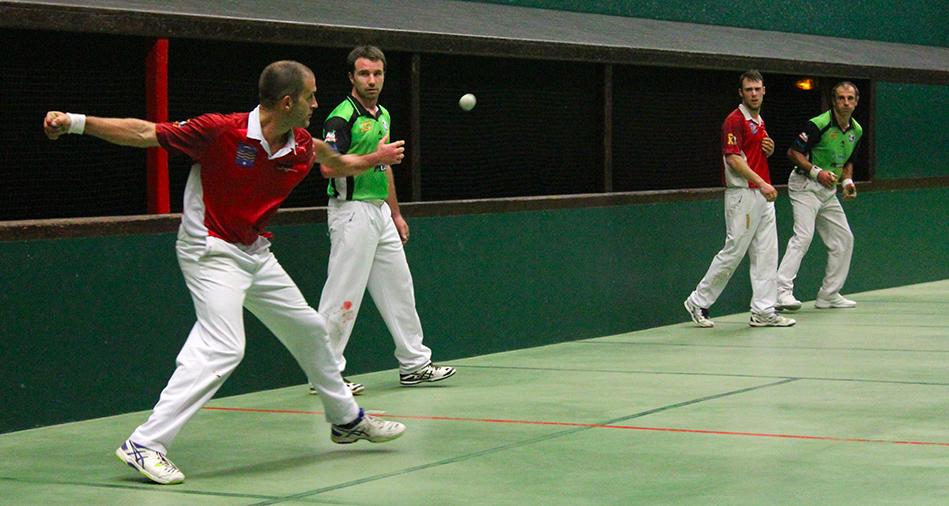 Championnat du Pays Basque main nue trinquet quarts de finale