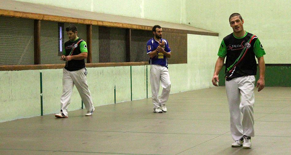 barrage championnat du pays basque main nue trinquet