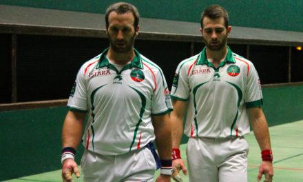 Etcheverry-Harismendy qualifiés pour les 1/4 de finale