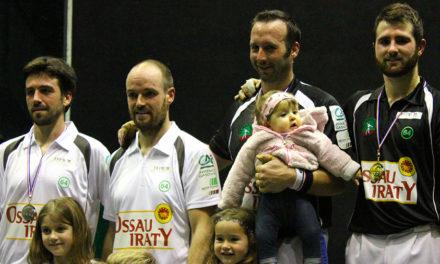Etcheverry-Harismendy champions de France amateur