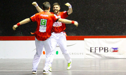 Larralde-Iturbe ont brillé contre Etchegaray-Bilbao
