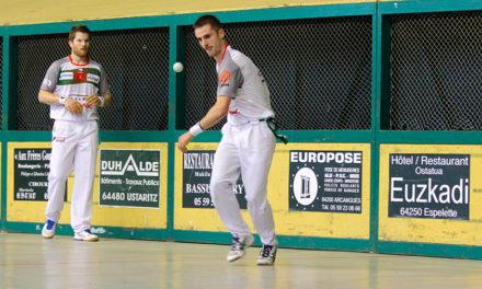 Echeverria-Ducassou en demi-finale