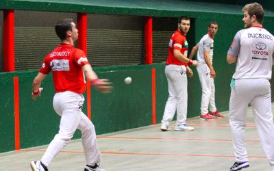 Gonzalez-Ducassou l'emportent face à Aguirre-Guichandut