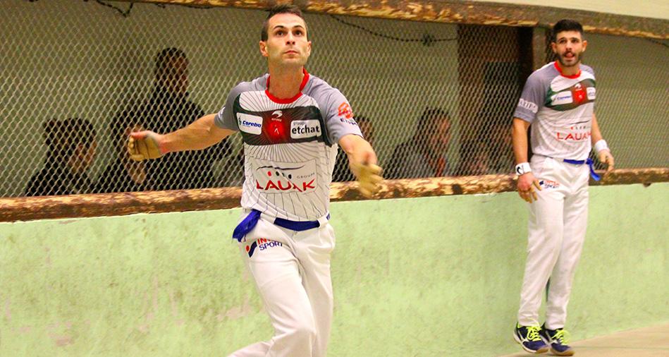 Ospital-Ducassou vs Larralde-Bilbao: 3e round