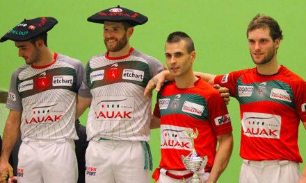 Ospital-Ducassou terminent la saison sur le podium
