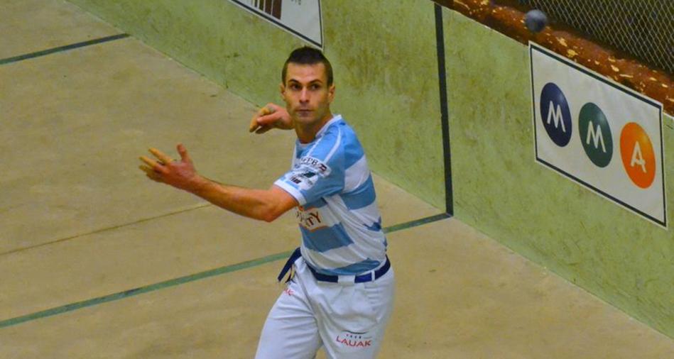 Bixintxo Bilbao joueur de pelote basque à main nue