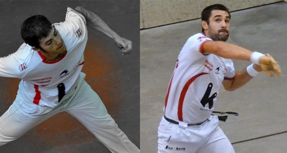Vincent Elgart et Julien Etchegaray joueurs d'Elite pro