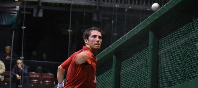 Xabi Alcasena, joueur de pelote basque à main nue