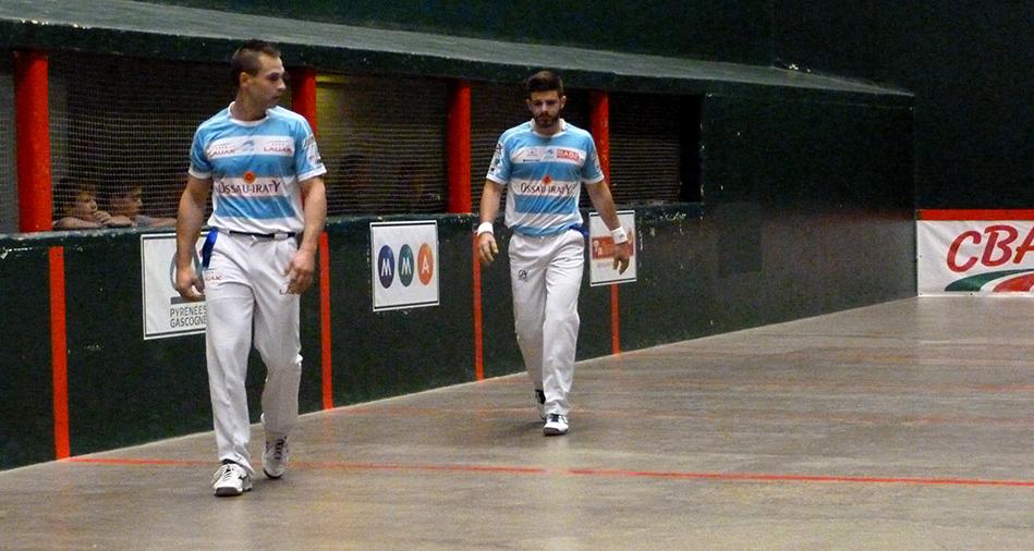 Demi-finale du championnat de France Elite pro de pelote basque par équipes