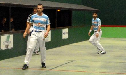 Une partie de pelote à Pau pour le championnat