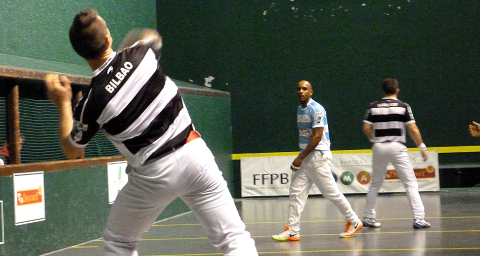 1/2 finale du Championnat de France Elite pro de pelote basque par équipes