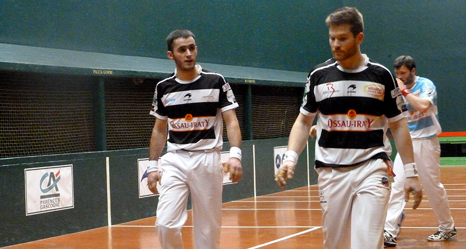 Ospital-Ducassou, joueurs de pelote basque