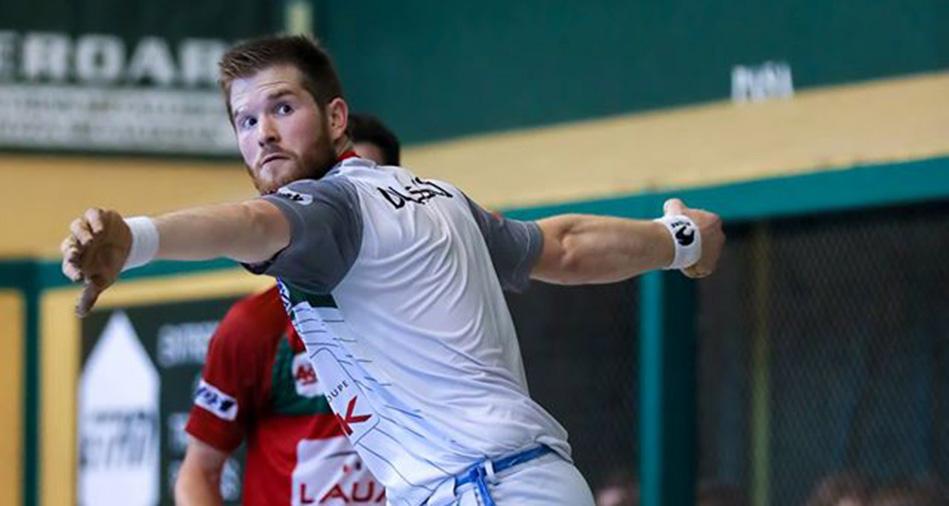 Baptiste Ducassou a remporté le tournoi d'Itxassou aux côtés de Mikel Gonzalez