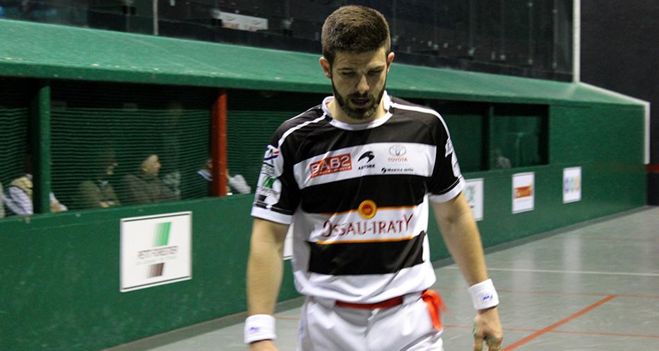 Peio Larralde, joueur de pelote basque