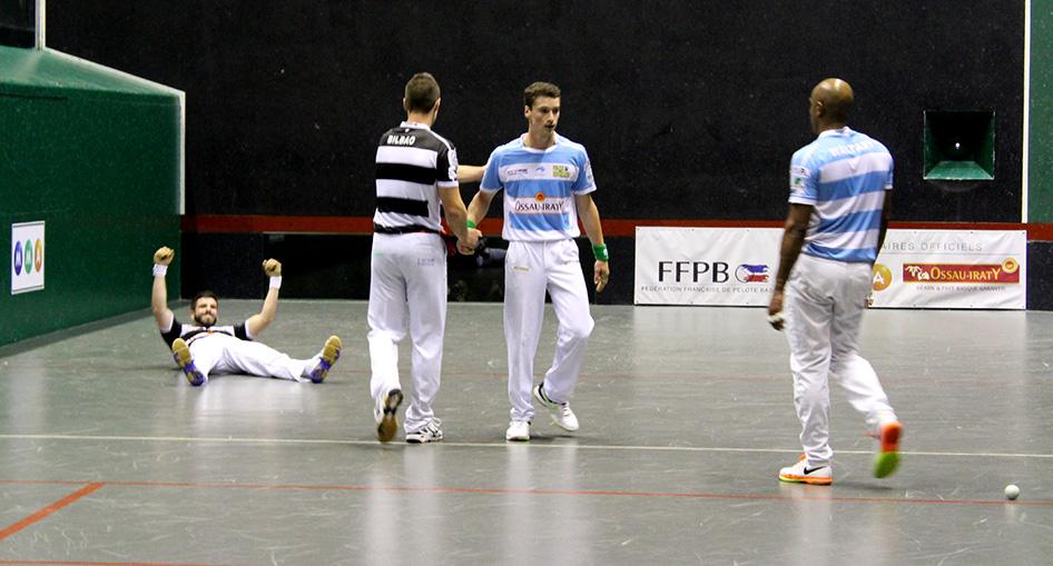 Larralde, Bilbao, Waltary et Guichandut participent au tournoi Pilotarienak