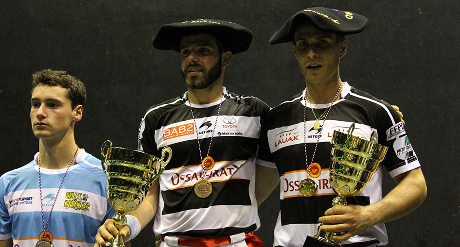 Larralde et Bilbao de nouveau sur la plus haute marche