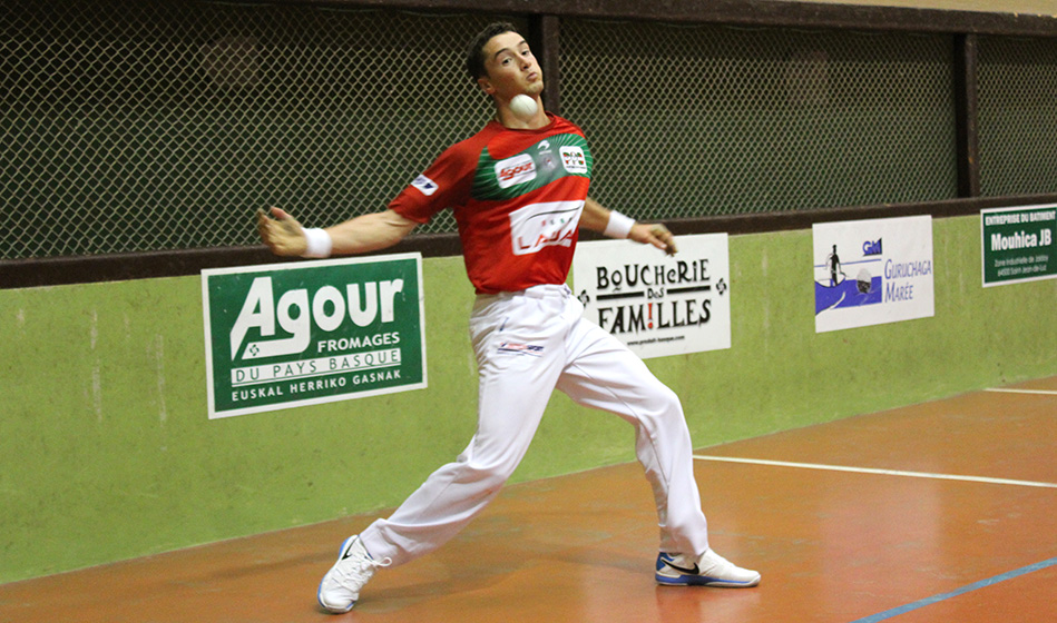Peio Guichandut participe au tournoi hoberenak
