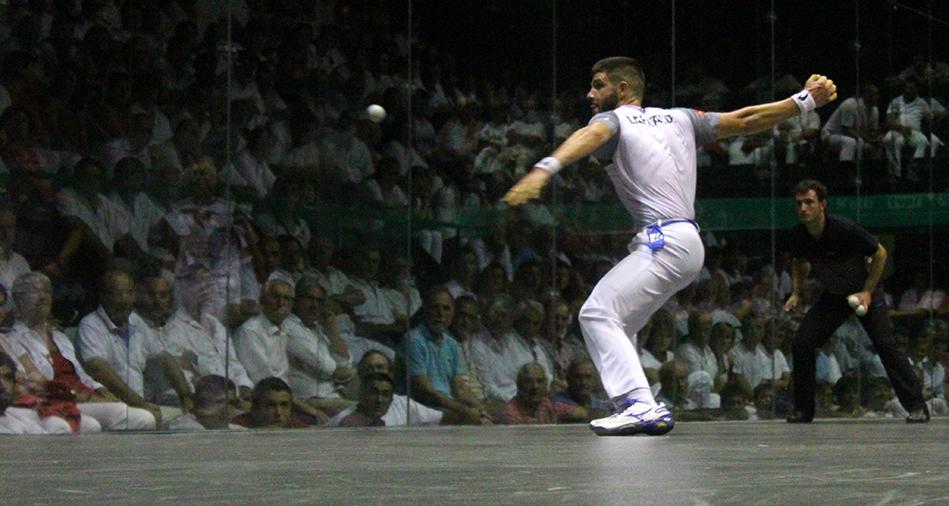 Peio Larralde joue sa quatrième finale d'affilée au Masters de Bayonne