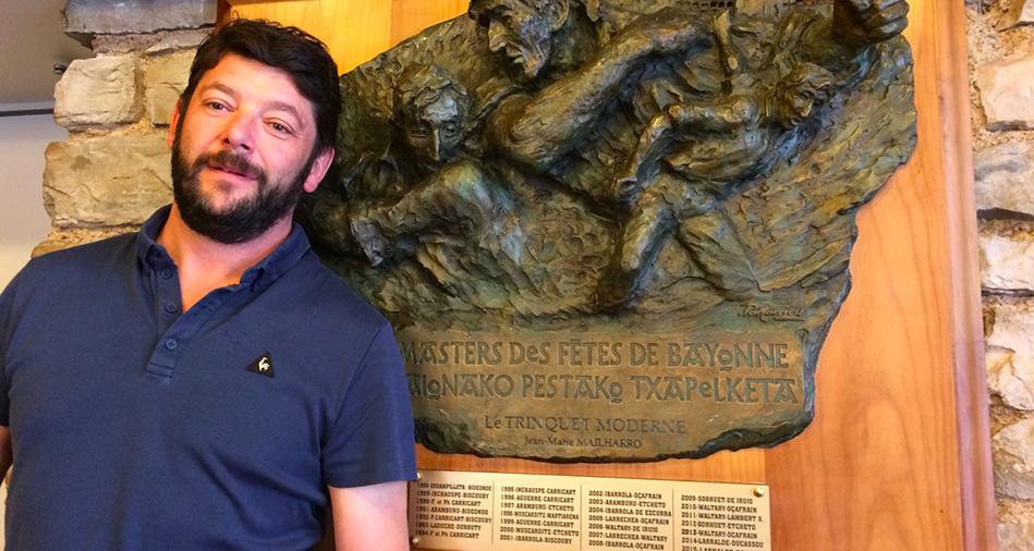 Loic Fountas, gérant du Trinquet Moderne