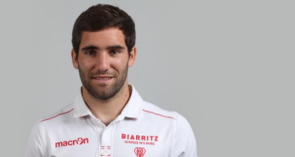 Maxime Lucu, joueur de rugby, parle de pelote basque