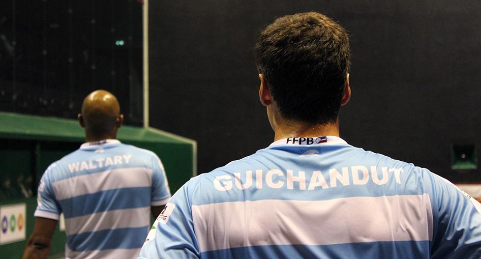 Waltary et Guichandut se sont imposés en demi-finale à Cambo
