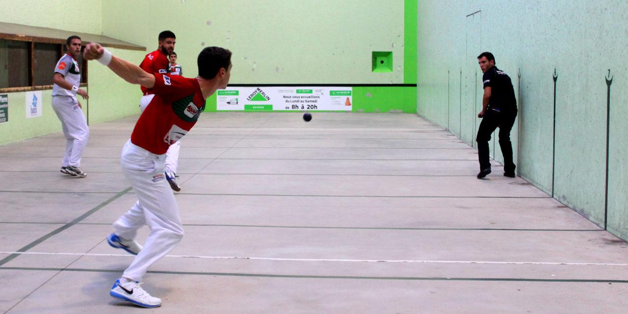 Larralde-Guichandut et Bielle-Ducassou en finale à Souraide