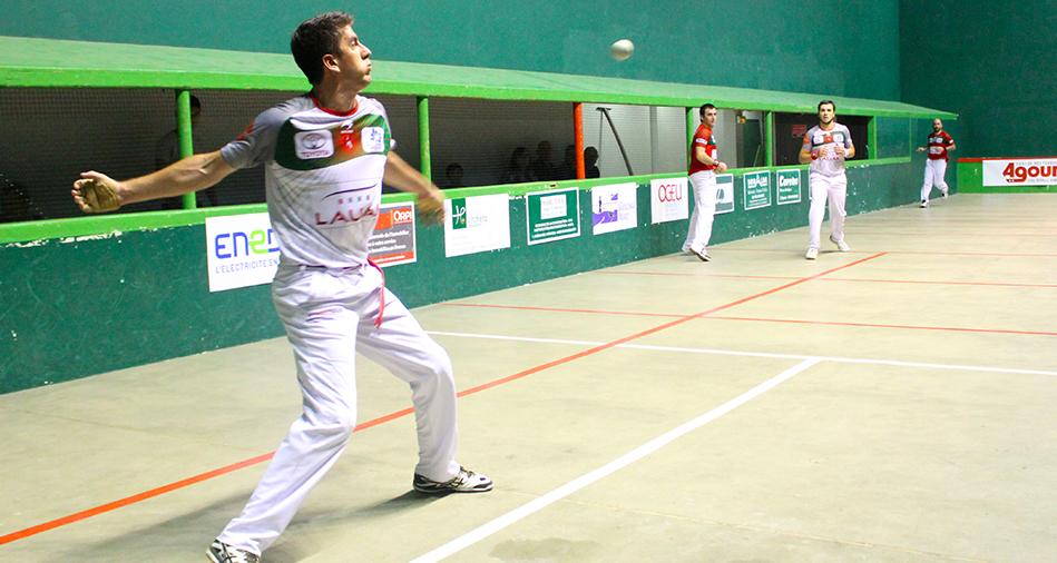 Aguirre-Palomes remportent le tournoi d'Ascain