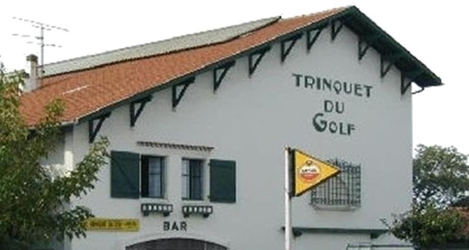 Le trinquet du golf se situe à Biarritz