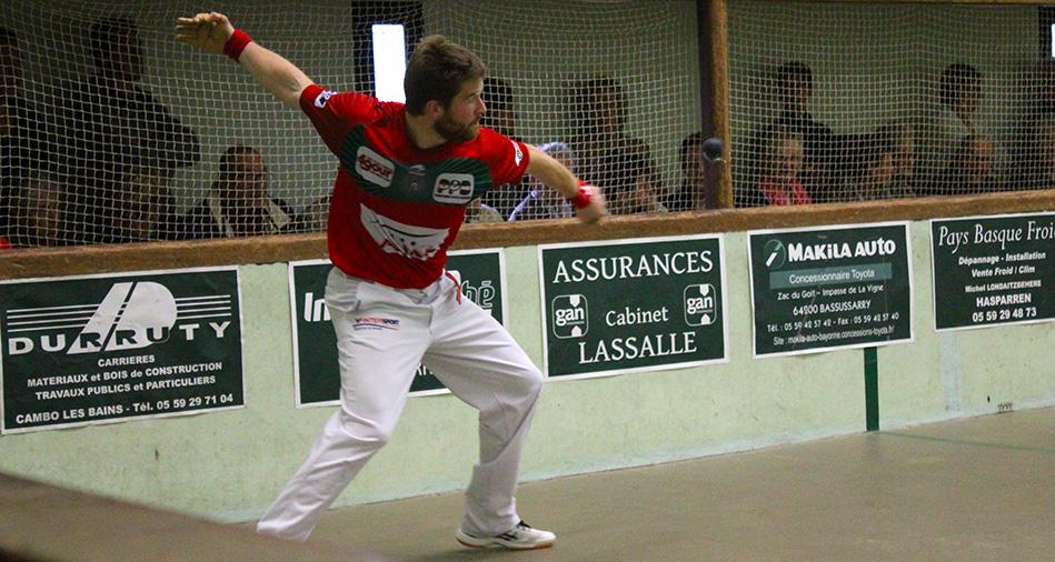 Baptiste Ducassou a remporté le tournoi de Mendionde