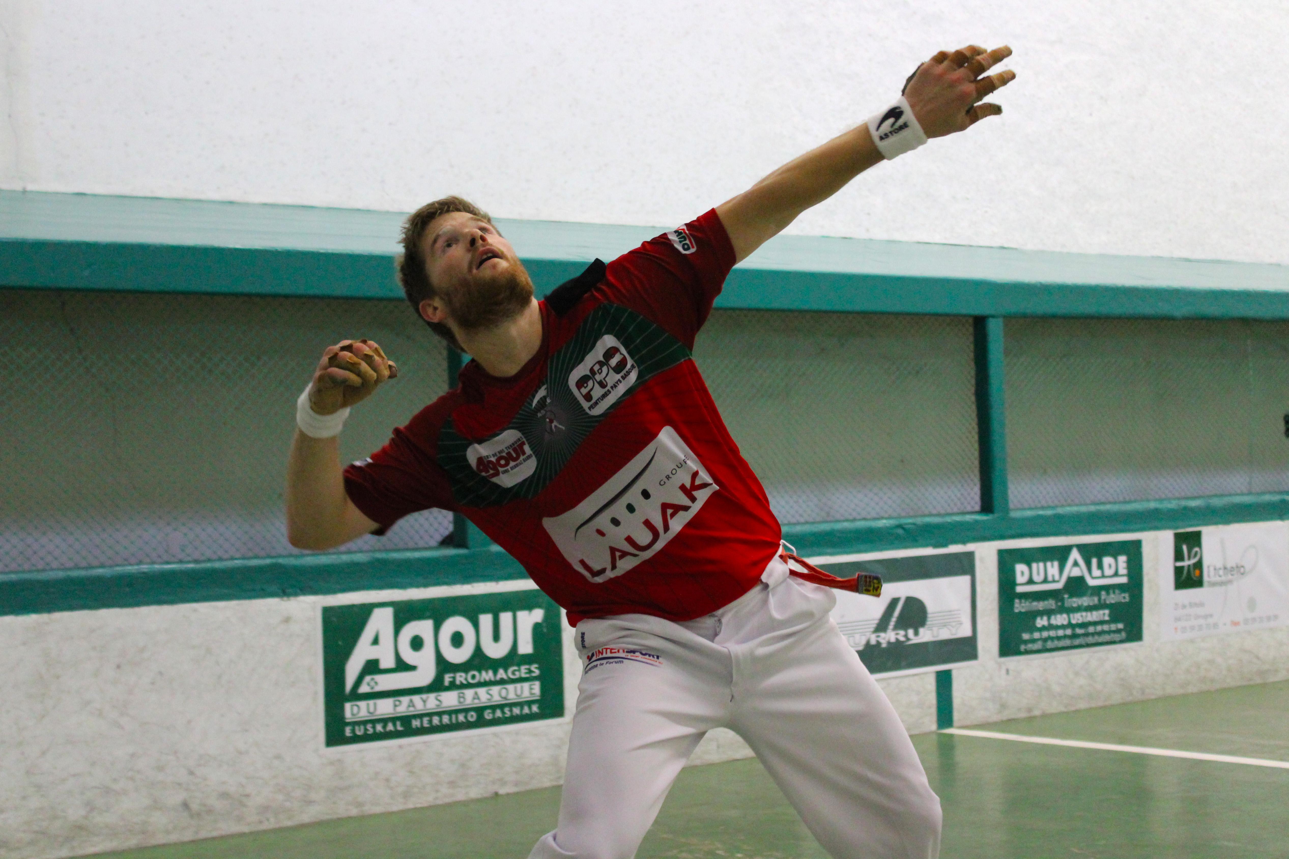 Baptiste Ducassou est en finale du tournoi de Sare