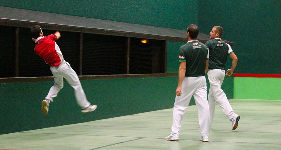 Barrages championnat du pays basque main nue