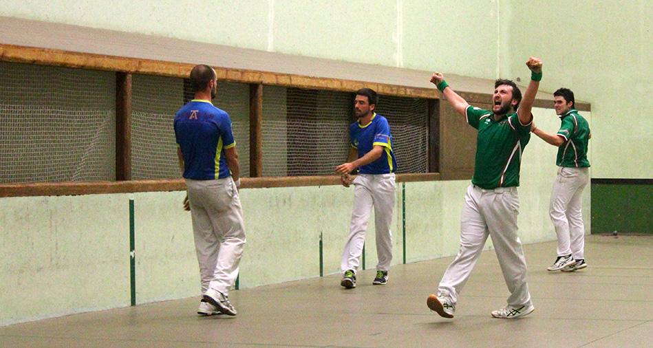 Championnat du Pays Basque main nue trinquet