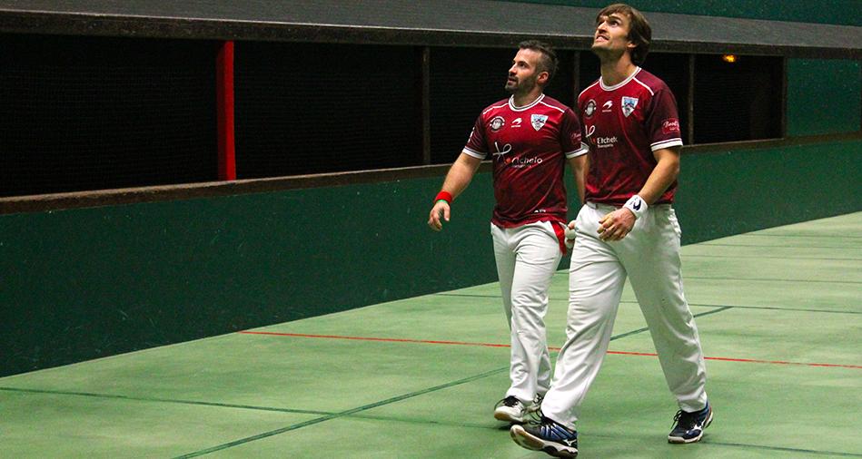Cigarroa-Bénesse en finale du Championnat du Pays Basque