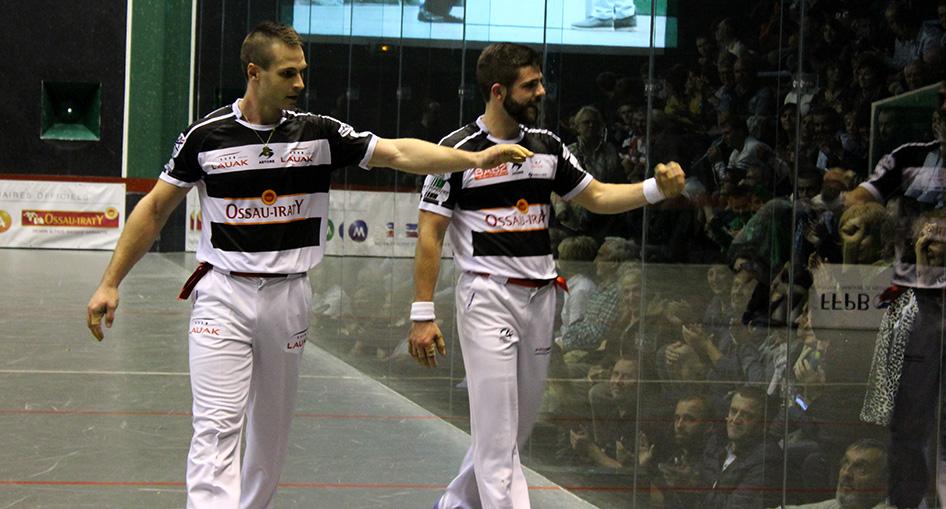 Bilbao et Larralde, champions de France 2017
