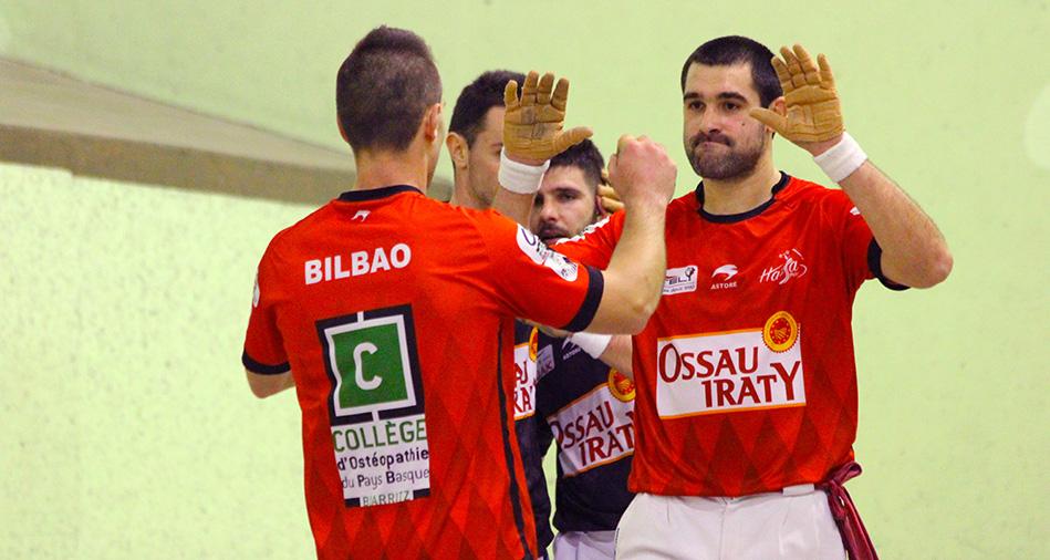 Etchegaray-Bilbao se rassurent face à Larralde-Iturbe