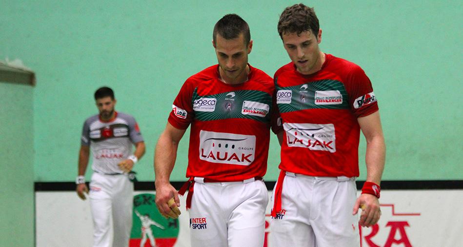 Inchauspé-Bilbao se qualifient pour les demi-finales